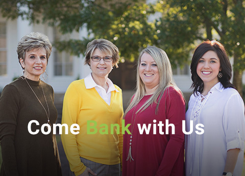 Come Bank With Us Image