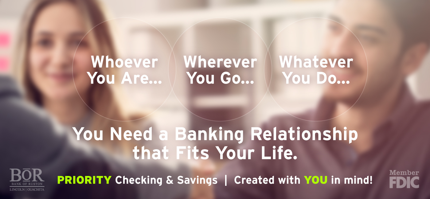 Priority Checking & Savings Image